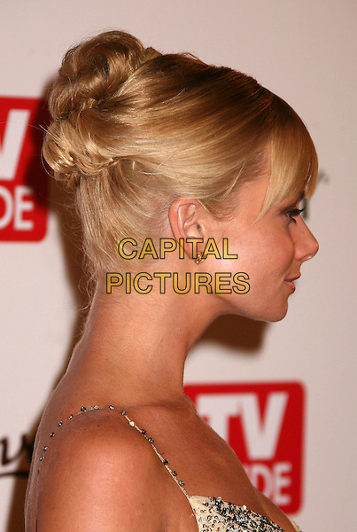JAIME PRESSLY.The TV Guide After Party following the 58th Annual Primetime Emmy Awards, Los Angeles, California, USA..August 27th, 2006.Ref: ADM/BP.headshot portrait profile hair up.www.capitalpictures.com.sales@capitalpictures.com.©Byron Purvis/AdMedia/Capital Pictures.