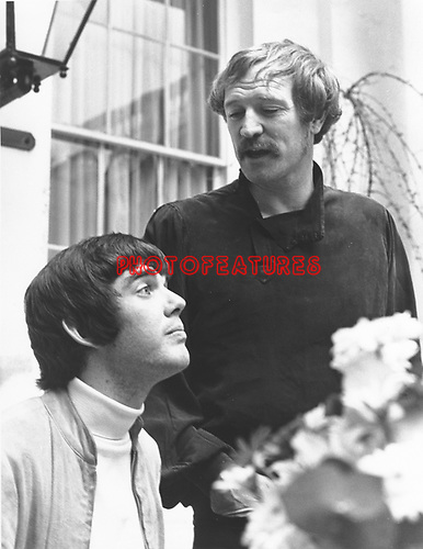 "Richard Harris and Jimmy Webb 1968 at time of ""Macarthur Park"".© Chris Walter."