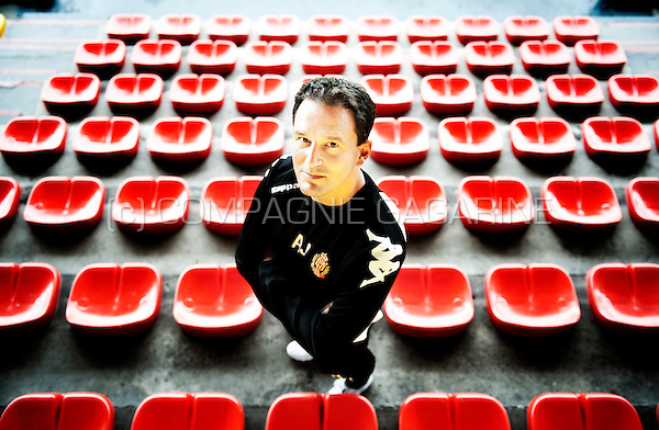 Serbian football coach and former football player Aleksandar Janković (Belgium, 26/08/2014)