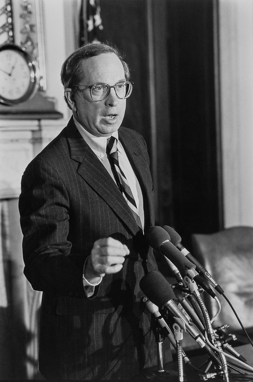 Sen. Sam Nunn, D-Ga. in Mar., 1991. (Photo by Laura Patterson/CQ Roll Call)