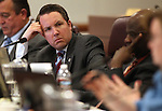 Nevada Assemblyman David Bobzien, D-Reno, listens in committee Monday morning, May 9, 2011, at the Legislature in Carson City, Nev..Photo by Cathleen Allison