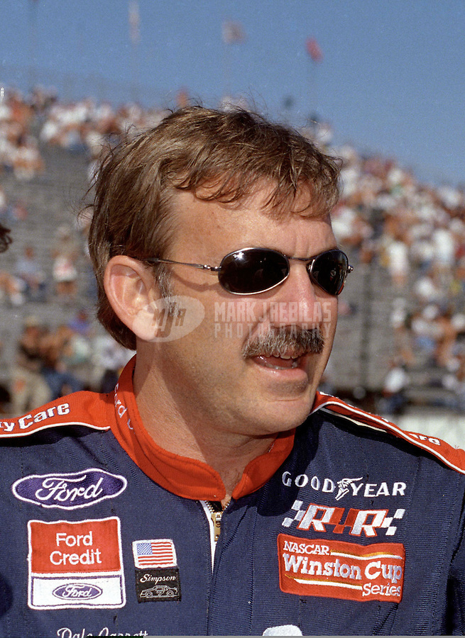 Nov. 2, 1997; Avondale, AZ, USA; NASCAR Winston Cup Series driver Dale Jarrett during the Dura Lube 500 at Phoenix International Raceway. Mandatory Credit: Mark J. Rebilas-