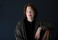 Alice Sebold is an American writer. She has published three books: Lucky, The Lovely Bones, and The Almost Moon. Salone del Libro 2018 Torino.© Leonardo Cendamo