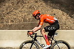 Nathan Van Hooydonck (BEL) CCC Team from the breakaway during Stage 6 of the 10th Tour of Oman 2019, running 135.5km from Al Mouj Muscat to Matrah Corniche, Oman. 21st February 2019.<br /> Picture: ASO/K&aring;re Dehlie Thorstad | Cyclefile<br /> All photos usage must carry mandatory copyright credit (&copy; Cyclefile | ASO/K&aring;re Dehlie Thorstad)