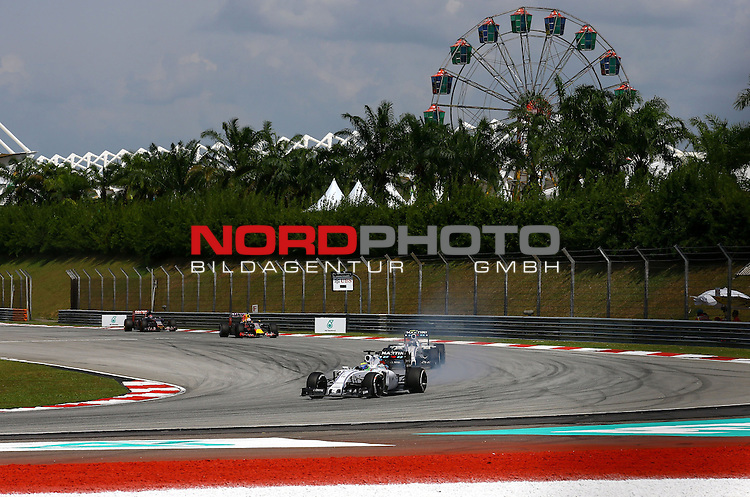 29.03.2011, Sepang-International-Circuit, Malaysia, MAL , Gro&szlig;er Preis von Malaysia / Kuala Lumpur, Training im Bild Felipe Massa (BRA), Williams GP<br /> for the complete Middle East, Austria &amp; Germany Media usage only!<br />  Foto &copy; nph / Mathis