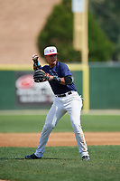 Noelvi Marte (7) during the Dominican Prospect League Elite Underclass International Series, powered by Baseball Factory, on July 31, 2017 at Silver Cross Field in Joliet, Illinois.  (Mike Janes/Four Seam Images)