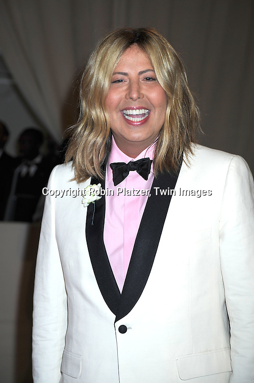 Steven Kojocaro arriving at The Costume Institute Gala Benefit celebrating American Woman: Fashioning a National Identity at The Metropolitan Museum of Art on May 3, 2010 in New York City.