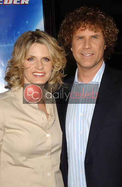 Viveca Paulin and Will Ferrell<br />