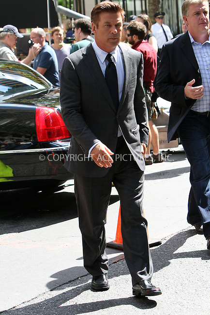 WWW.ACEPIXS.COM . . . . .  ....August 28 2012, New York City....Actor Alec Baldwin on the Midtown set of the TV show '30 Rock' on August 28 2012 in New York City....Please byline: Zelig Shaul - ACE PICTURES.... *** ***..Ace Pictures, Inc:  ..Philip Vaughan (212) 243-8787 or (646) 769 0430..e-mail: info@acepixs.com..web: http://www.acepixs.com