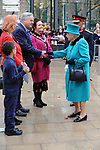Queen Elizabeth II opens  Coram's central London campus The Queen Elizabeth II Centre, a national centre of excellence for children named in Her Majesty's honour