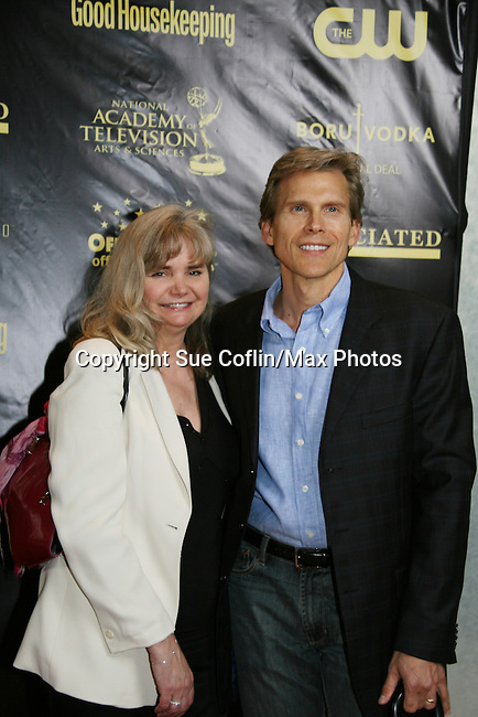Guiding Light's Grant Aleksander and wife Sherry at the 36h Annual Daytime Entertainment Emmy® Awards Nomination Party - Sponsored By: Good Housekeeping and The National Academy. of Television Arts & Sciences (NATAS) on Thursday, May 14, 2009 at Hearst Tower, New York City, New York. (Photo by Sue Coflin/Max Photos)                                 ..