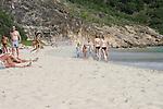 Kirsten Dunst beach 12/29/2004