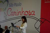 SÃO PAULO. SP. 23.04.2014 SÃO PAULO CARINHOSA  Ana Estela Haddad  durante o Lançamento da Platarforma Digital São Paulo Carinhosa na Galeria das Artes região central da cidade, nesta Quarta-Feira 23. ( Foto: Bruno Ulivieri / Brazil Photo Press