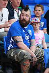 Birmingham City fan during the championship match at St Andrews Stadium, Birmingham. Picture date 21st April 2018. Picture credit should read: Simon Bellis/Sportimage
