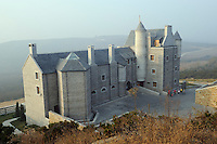 The castle of Treaty Port Vineyard - Rafita vineyard is over the castle, in Yantai, Shandong province, China. 06-Nov-2010