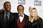 "Maurice Hines and General Hospital's Love Boat's Ted Lange ""Issac"" with wife Mary Ley at The National Black Theatre Festival with a week of plays, workshops and much more with an opening night gala of dinner, awards presentation followed by Black Stars of the Great White Way followed by a celebrity reception. It is an International Celebration and Reunion of Spirit. (Photo by Sue Coflin/Max Photos)"