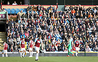 Burnley fans enjoy the first half action<br /> <br /> Photographer Rich Linley/CameraSport<br /> <br /> The Premier League - Burnley v Wolverhampton Wanderers - Saturday 30th March 2019 - Turf Moor - Burnley<br /> <br /> World Copyright © 2019 CameraSport. All rights reserved. 43 Linden Ave. Countesthorpe. Leicester. England. LE8 5PG - Tel: +44 (0) 116 277 4147 - admin@camerasport.com - www.camerasport.com