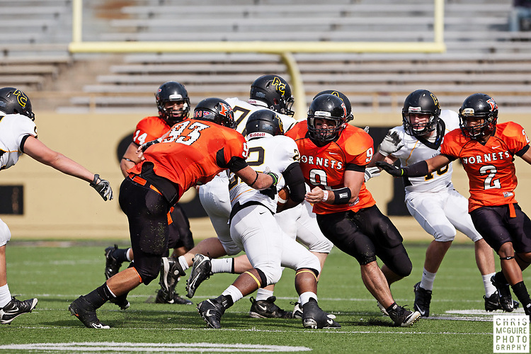 10/22/11 - Kalamazoo, MI: Kalamazoo College football vs Adrian - Homecoming game.  Adrian won 52-21.  Photo by Chris McGuire.