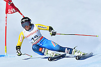 February 16, 2017: Sara HECTOR (SWE) competing in the women's giant slalom event at the FIS Alpine World Ski Championships at St Moritz, Switzerland. Photo Sydney Low