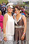 Evelyn Leen and Susan Moriarty Killarney pictured at Killarney Races Ladies day on Thursday.