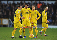 Fleetwood Town's Ross Wallace, Ched Evans and Ashley Hunter discuss tactics ahead of a free kick<br /> <br /> Photographer Kevin Barnes/CameraSport<br /> <br /> The EFL Sky Bet League One - Bristol Rovers v Fleetwood Town - Saturday 22nd December 2018 - Memorial Stadium - Bristol<br /> <br /> World Copyright &copy; 2018 CameraSport. All rights reserved. 43 Linden Ave. Countesthorpe. Leicester. England. LE8 5PG - Tel: +44 (0) 116 277 4147 - admin@camerasport.com - www.camerasport.com
