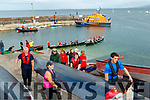 Fenit life boat paid a visit during the Brandon regatta last Sunday offering the public a guided tour of their boat.