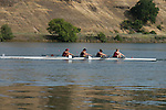 May 16, 2015; Gold River, CA, USA; I Four race, Loyola Marymount Lions during the WCC Rowing Championships at Lake Natoma.
