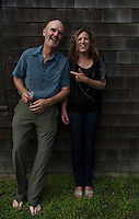 Alix Wiseman and John Battle at the Barn, Bridgehampton, New York, USA