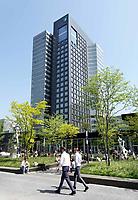 Nederland Amsterdam - april 2018 . Kantoor van ABN AMRO op de Zuidas. Foto Berlinda van Dam / Hollandse Hoogte