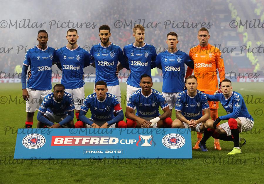 Rangers v Celtic 081219