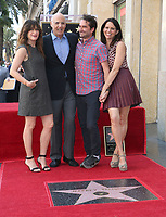08 August 2017 - Hollywood, California - Kathryn Hahn, Jeffrey Tambor, Jay Duplass, Amy Landecker. Jeffrey Tambor Honored With A Star On The Hollywood Walk Of Fame. <br /> CAP/ADM/FS<br /> &copy;FS/ADM/Capital Pictures