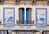 "Can Barceló, Plaza Josep Maria Quadrado, 9, (siglo XX) decorada con cerámicas policromadas de la antigua fábrica mallorquina ""La Roqueta"", firmada por Vicenç Llorenç<br /> Can Barceló, Plaza Josep Maria Quadrado, 9, (20th century) decorated with tiles of the antique mallorquean fabric ""La Roqueta"", designed by Vicenç Llorenç<br /> Can Barceló, Plaza Josep Maria Quadrado, 9, (20. Jh.) dekoriert mit Keramikkacheln der alten mallorquinischen Fabrik ""La Roqueta"", gestaltet von Vicenç Llorenç<br /> 2819x1975 px"