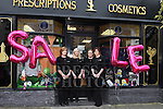 Staff of McGoey's Pharmacy Letty McCormack, Andrea Cassidy, Lorraine Hendy and Karen Martin pictured during the Ardee Bonanza weekend. Photo:Colin Bell/pressphotos.ie