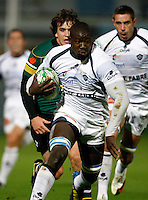 Photo: Richard Lane/Richard Lane Photography. Northampton Saints v Castres Olympique. Heineken Cup. 08/10/2010. Castre's Ibrahim Diarra attacks.