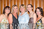 Lovely ladies Karina Mangan Castleisland, Frances King Currow, Catherine Conroy Currow, Denise Tangney Kenmare and Edel Hobbert-Dowling Tralee at the Construction Industry Federation ball in the Malton Hotel on Friday night    Copyright Kerry's Eye 2008