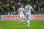 10.08.2019, wohninvest Weserstadion, Bremen, GER, DFB-Pokal, 1. Runde, SV Atlas Delmenhorst vs SV Werder Bremen<br /> <br /> DFB REGULATIONS PROHIBIT ANY USE OF PHOTOGRAPHS AS IMAGE SEQUENCES AND/OR QUASI-VIDEO.<br /> <br /> im Bild / picture shows<br /> Christian Groß / Gross (Werder Bremen #36)<br /> Kevin Möhwald / Moehwald (Werder Bremen #06)<br /> <br /> Foto © nordphoto / Kokenge