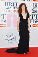 Jess Glynne arrives for the BRIT Awards 2015 at the O2 Arena, London. 25/02/2015 Picture by: Steve Vas / Featureflash
