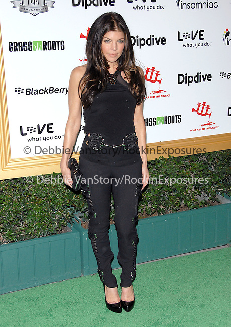 Stacy Ferguson Duhamel aka Fergie at The First Annual Data Awards, presented by will.i.am, The Black Eyed Peas & Dipdive held at The Hollywood Palladium in Hollywood, California on January 29,2010                                                                   Copyright 2009  DVS / RockinExposures