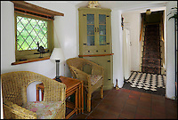BNPS.co.uk (01202 558833)<br /> Pic: Domvs/BNPS<br /> <br /> This fairytale cottage is far from Grimm...<br /> <br /> A cosy Hansel and Gretel style cottage nestled in woodland is the perfect romantic getaway spot.<br /> <br /> The enchanting Stockford Lodge in East Stoke, Dorset, which was once used by bohemian artist Augustus John for his romantic liaisons, is now on the market with Domvs estate agents for &pound;420,000.