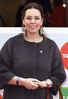 Olivia Colman at the Princes Trust &amp; TKMaxx &amp; Homesense Awards 2018, London Palladium, London UK on March 6th 2018<br /> CAP/ROS<br /> &copy;ROS/Capital Pictures