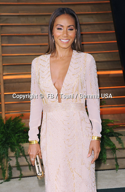 Jada Pinkett 019 arriving at the Vanity Fair Oscars 2014 Party at the 8680 Sunset Boulevard West Hollywood.