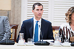 King Felipe VI of Spain during the COTEC Board meeting at El Pardo Palace in Madrid. June 08. 2016. (ALTERPHOTOS/Borja B.Hojas)