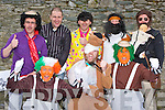 Returning the Celtic Tiger to Killarney at the Killarney St Patricks Day parade on Sunday was front row l-r: Gareth, Kenneth, Damian Byrne. Back row: Colm Coen, Sean O'Connor, Noel Byrne, Eoin Dorney and Daniel O'Connnell ..