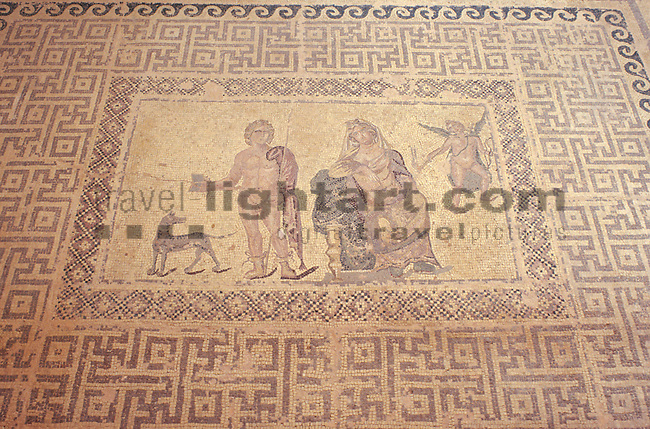 Mosaike im Haus des Dionysos, Mosaics in the house of Dionysos, Paphos, Pafos, Cyprus, Zypern.