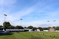 General view of the ground during Essex Eagles vs Premier Leagues XI, T20 Friendly Match Cricket at The Cloudfm County Ground on 4th July 2017