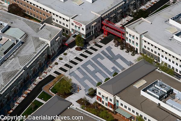 Aerial Photograph Facebook Headquarters 1 Hacker Way Menlo Park
