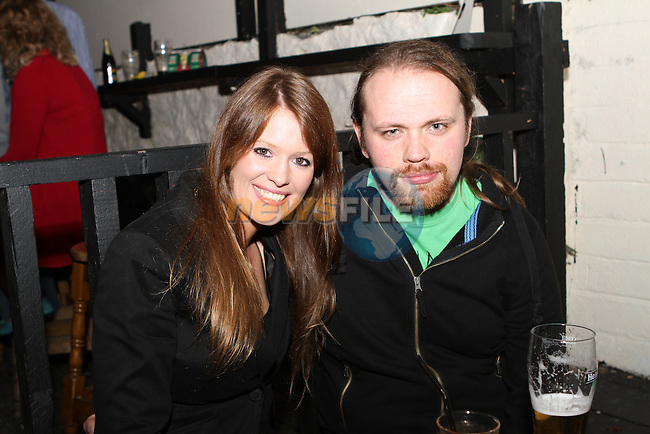 Matt Clougher and Jennifer Green in McPhails...Photo NEWSFILE/Jenny Matthews.