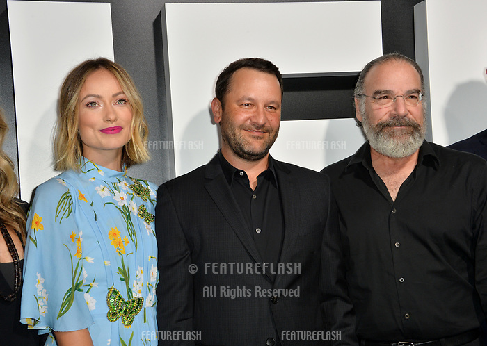 LOS ANGELES, CA. September 13, 2018: Olivia Wilde, Dan Fogelman, Mandy Patinkin at the premiere for &quot;Life Itself&quot; at the Cinerama Dome.<br /> Picture: Paul Smith/Featureflash