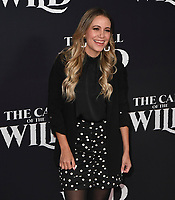 "13 February 2020 - Hollywood, California - Gaby Cam. ""The Call of the Wild"" Twentieth Century Studios World Premiere held at El Capitan Theater. Photo Credit: Dave Safley/AdMedia"