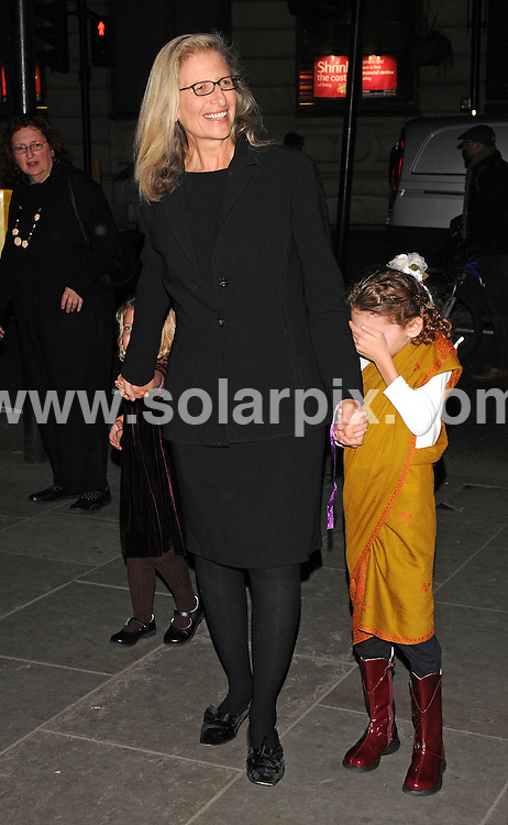 **ALL ROUND PICTURES FROM SOLARPIX.COM**.**WORLDWIDE SYNDICATION RIGHTS**.Outside arrivals at the Annie Leibovitz - A Photographer's Life 1990-2005 - VIP Private View in the National Portrait Gallery, London. Wednesday 22nd October 2008...This pic: Annie Leibovitz..JOB REF: 7672 SSD     DATE: 22_10_2008.**MUST CREDIT SOLARPIX.COM OR DOUBLE FEE WILL BE CHARGED* *UNDER NO CIRCUMSTANCES IS THIS IMAGE TO BE REPRODUCED FOR ANY ONLINE EDITION WITHOUT PRIOR PERMISSION*